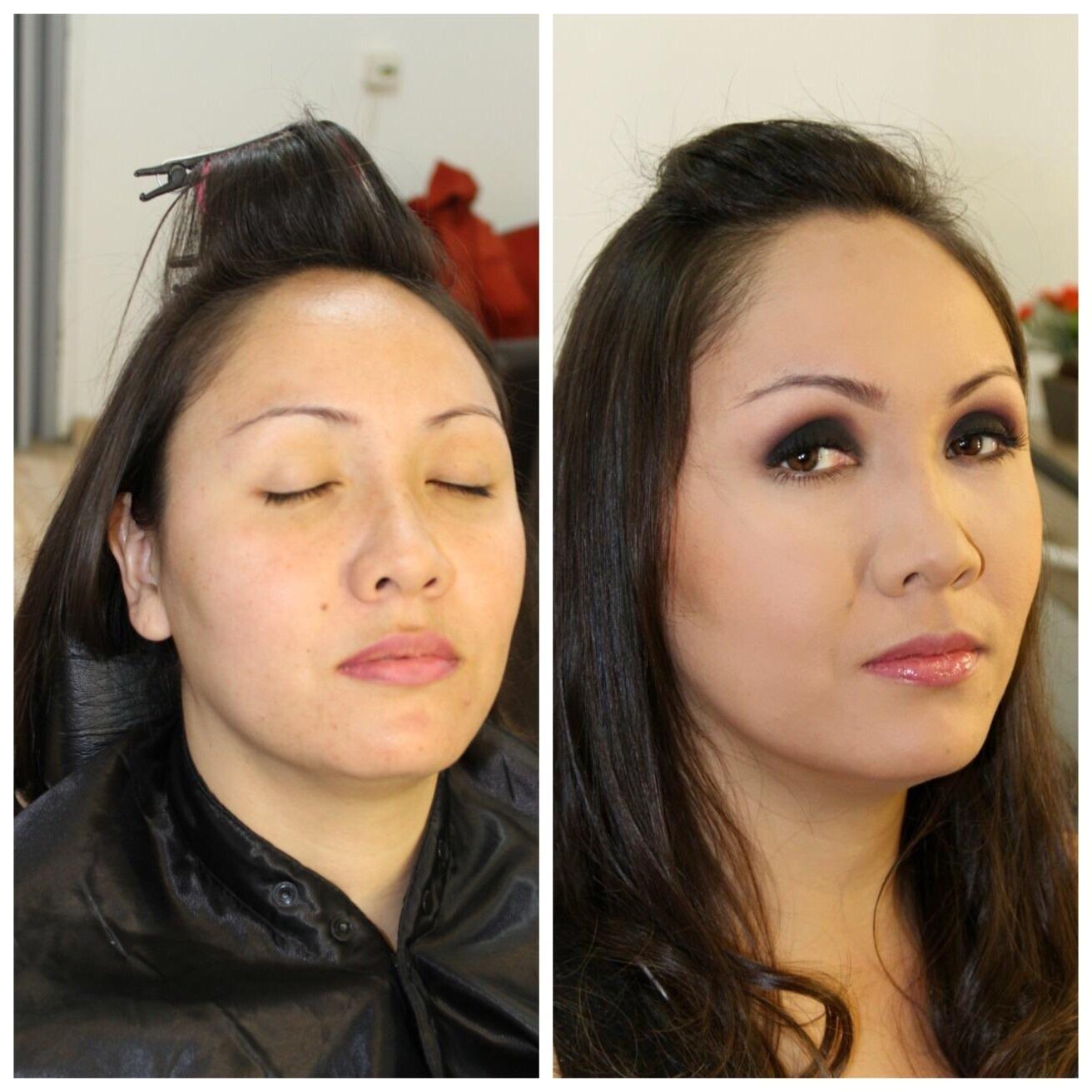 #maquiagemoriental cabelo maquiador(a) cabeleireiro(a)