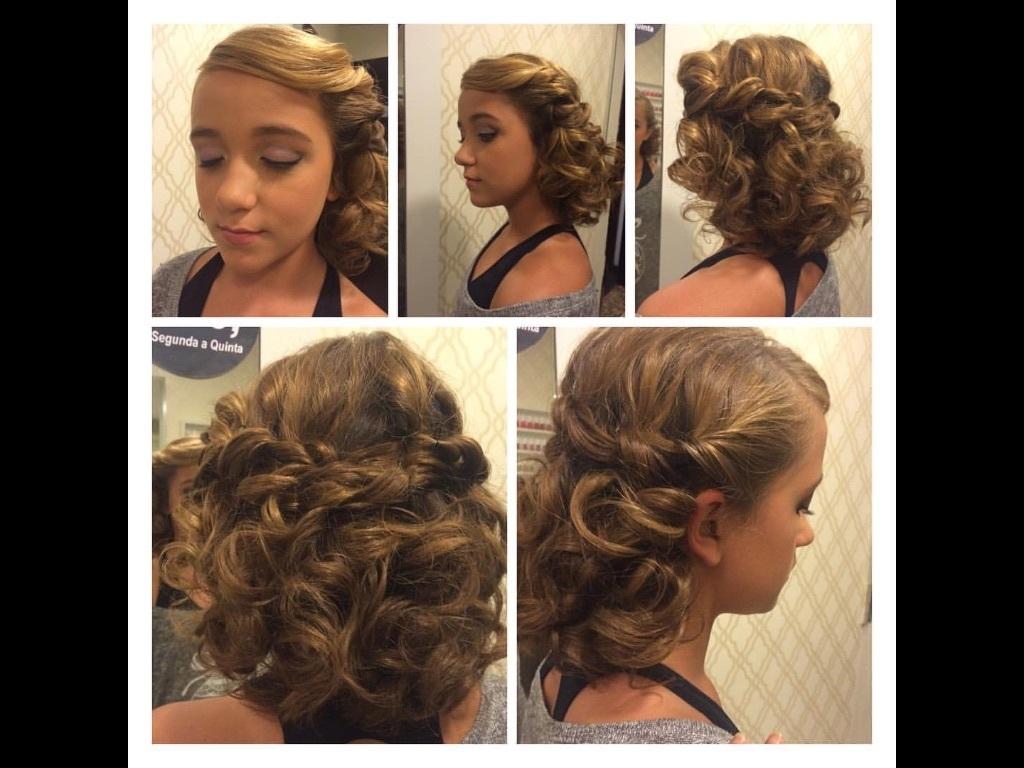Penteado romântico para daminhas!! cabelo cabeleireiro(a) maquiador(a)