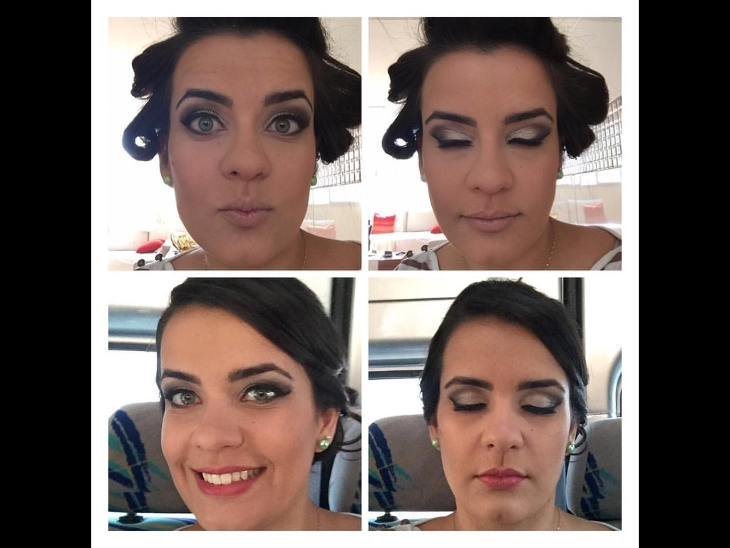 Preparo pra festa!! maquiagem cabeleireiro(a) maquiador(a)