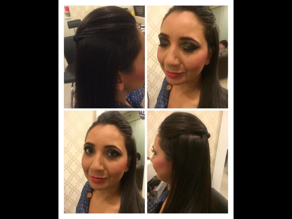 Make e penteado moicano baixo pra festa!! cabeleireiro(a) maquiador(a)