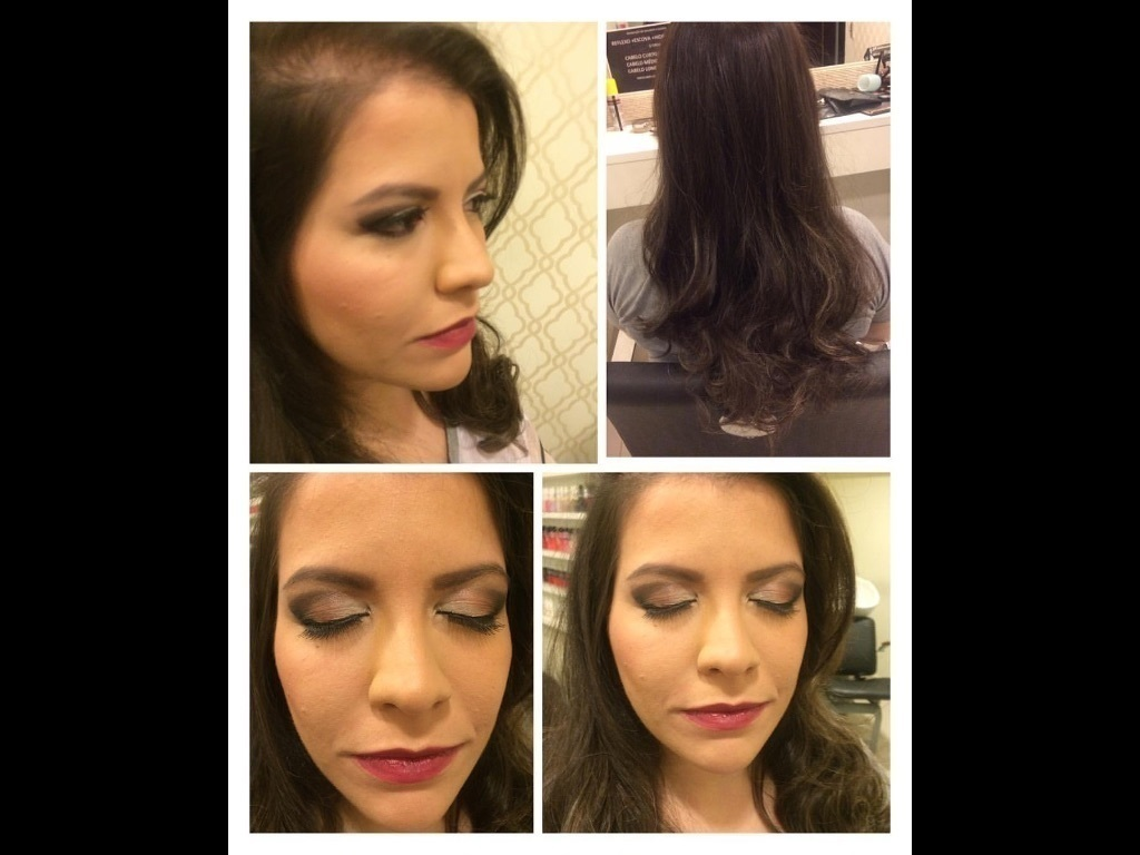 Make  e escova!! cabeleireiro(a) maquiador(a)