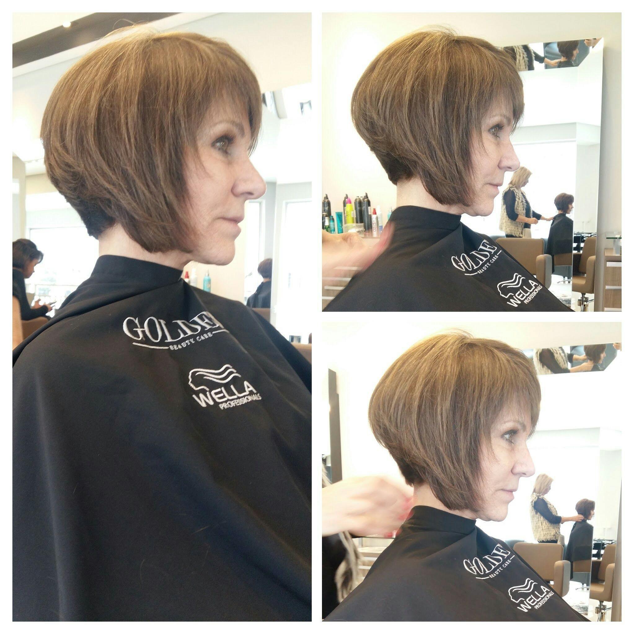 Corte Chanel #Chanel de bico #cabelo curto cabelo cabeleireiro(a)