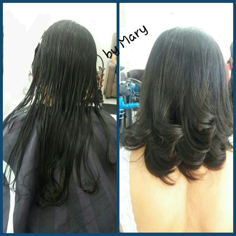 Corte long bob. cabelo cabeleireiro(a)
