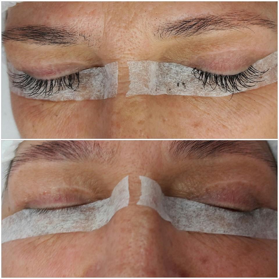 alongamento de cilios fio a fio maquiagem designer de sobrancelhas manicure e pedicure depilador(a)