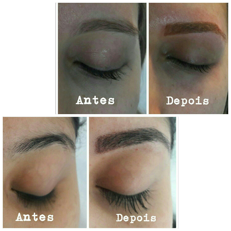 Dermopigmentacao .....antes e depois .... outros cabeleireiro(a) maquiador(a) barbeiro(a) designer de sobrancelhas dermopigmentador(a)