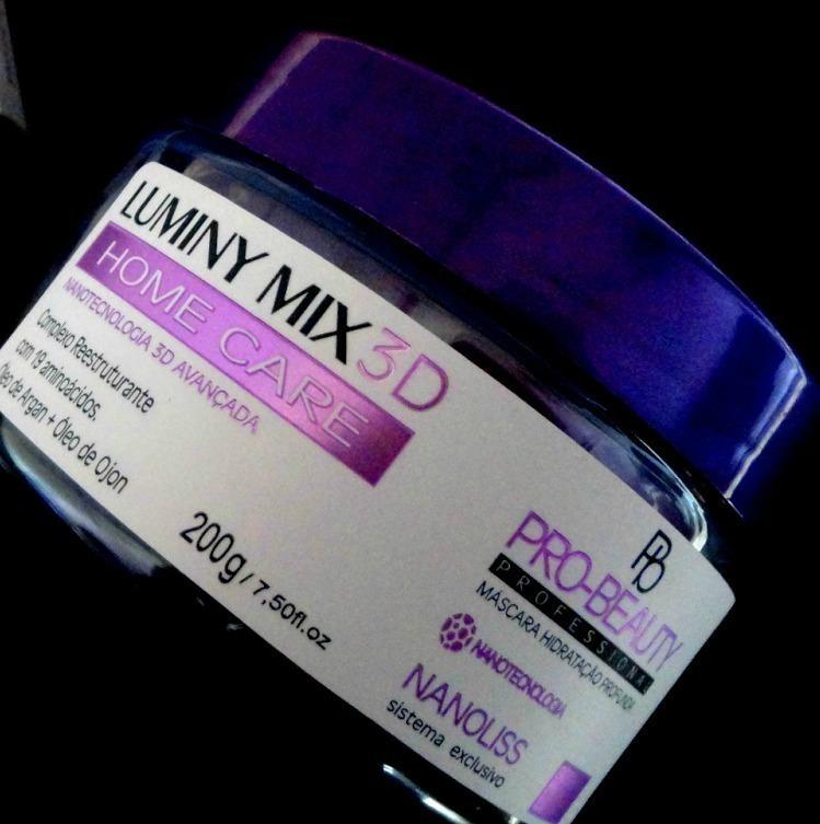 Mascara capilar que penetra profundamente nos fios reparando a porosidade devolvendo a textura original para os cabelos severamente danificados.  http://fiosfortes.com.br/produto/mascara-capilar-luminy-mix-3d/ cabelo fisioterapeuta