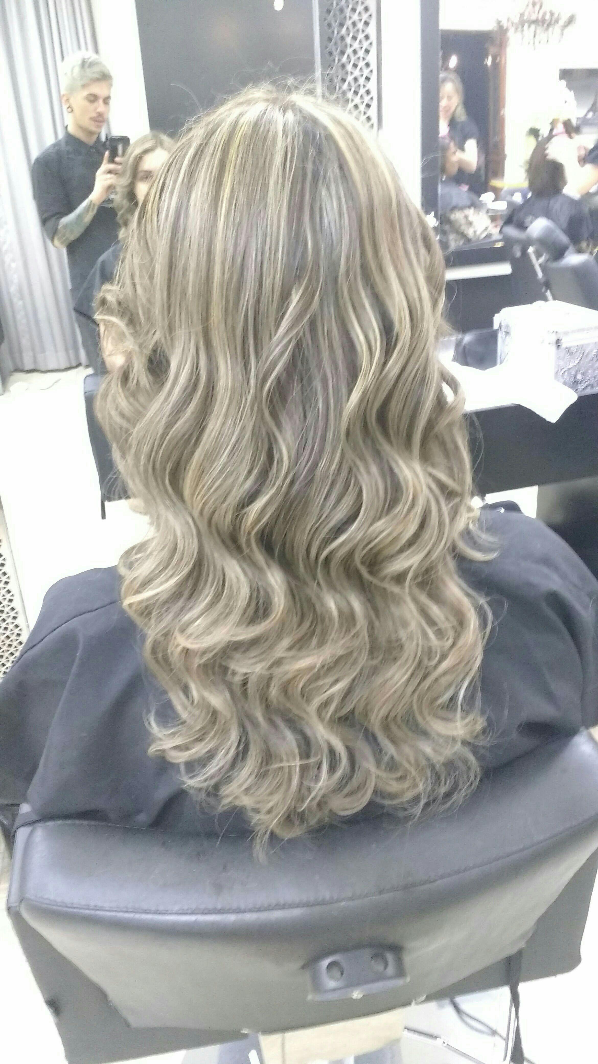 Mechas, finalizadas com babylis cabeleireiro(a) cabeleireiro(a)