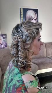 Madrinha penteado cabelo cabeleireiro(a) maquiador(a)