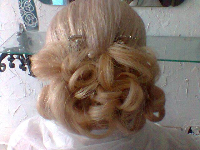 Penteado noiva cabelo cabeleireiro(a) maquiador(a)