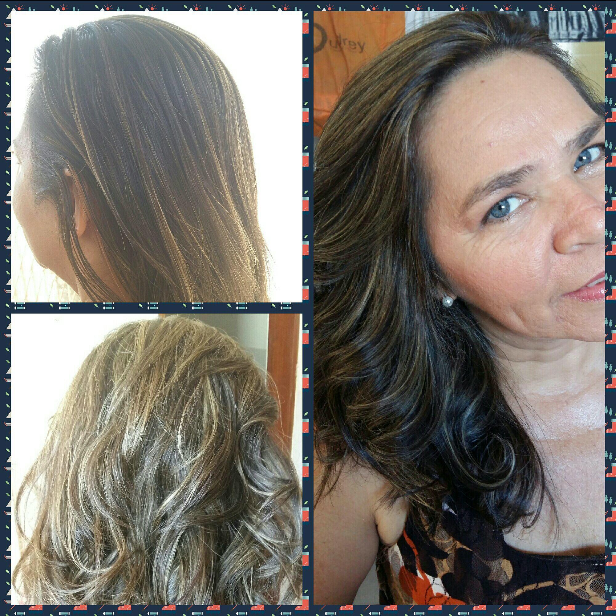 Luzes na toucà. ..😍 cabelo cabeleireiro(a)