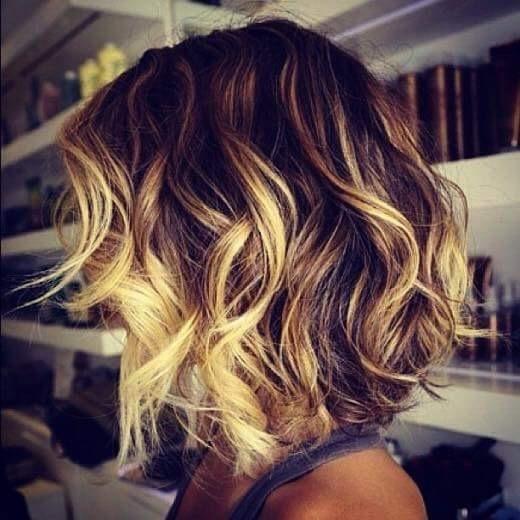 Ombre e corte cabelo cabeleireiro(a) stylist / visagista