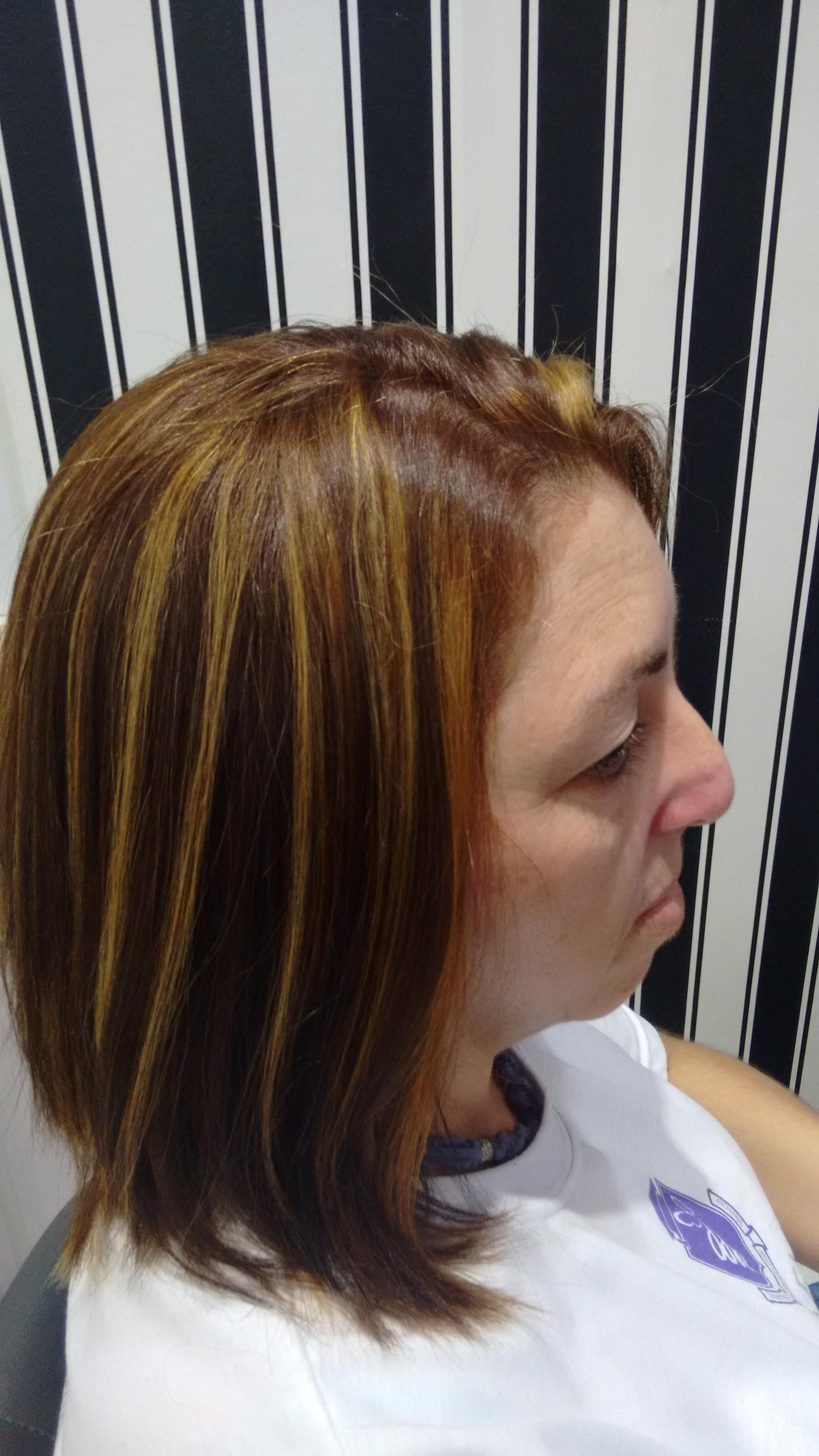 Técnica usada: marmorização cabelo cabeleireiro(a) cabeleireiro(a)