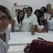 Trabalho de divulgação e vendas dos produtos Dermoscientia para alunas do Colégio 24 de Maio.