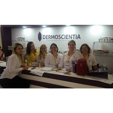 Trabalho na Feira Estetika 2015 - stand Dermoscientia e toda a Equipe. estética esteticista auxiliar cabeleireiro(a) consultor(a) de estetica dermoconsultor(a) recepcionista