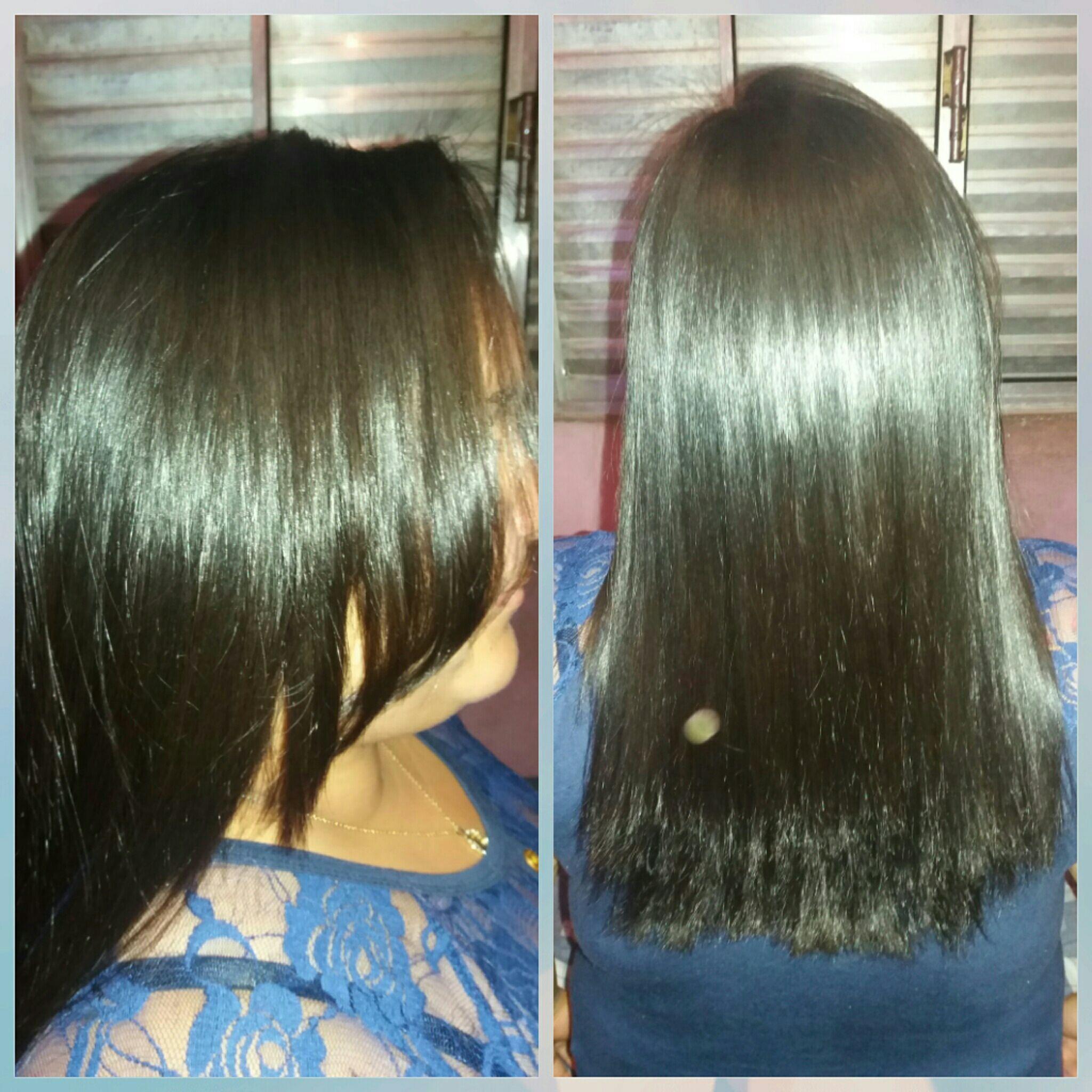 Resultado final progressiva. #cabeleireira #inlove #hair #madarro #salonline #inoar cabelo maquiador(a) designer de sobrancelhas maquiador(a) maquiador(a)