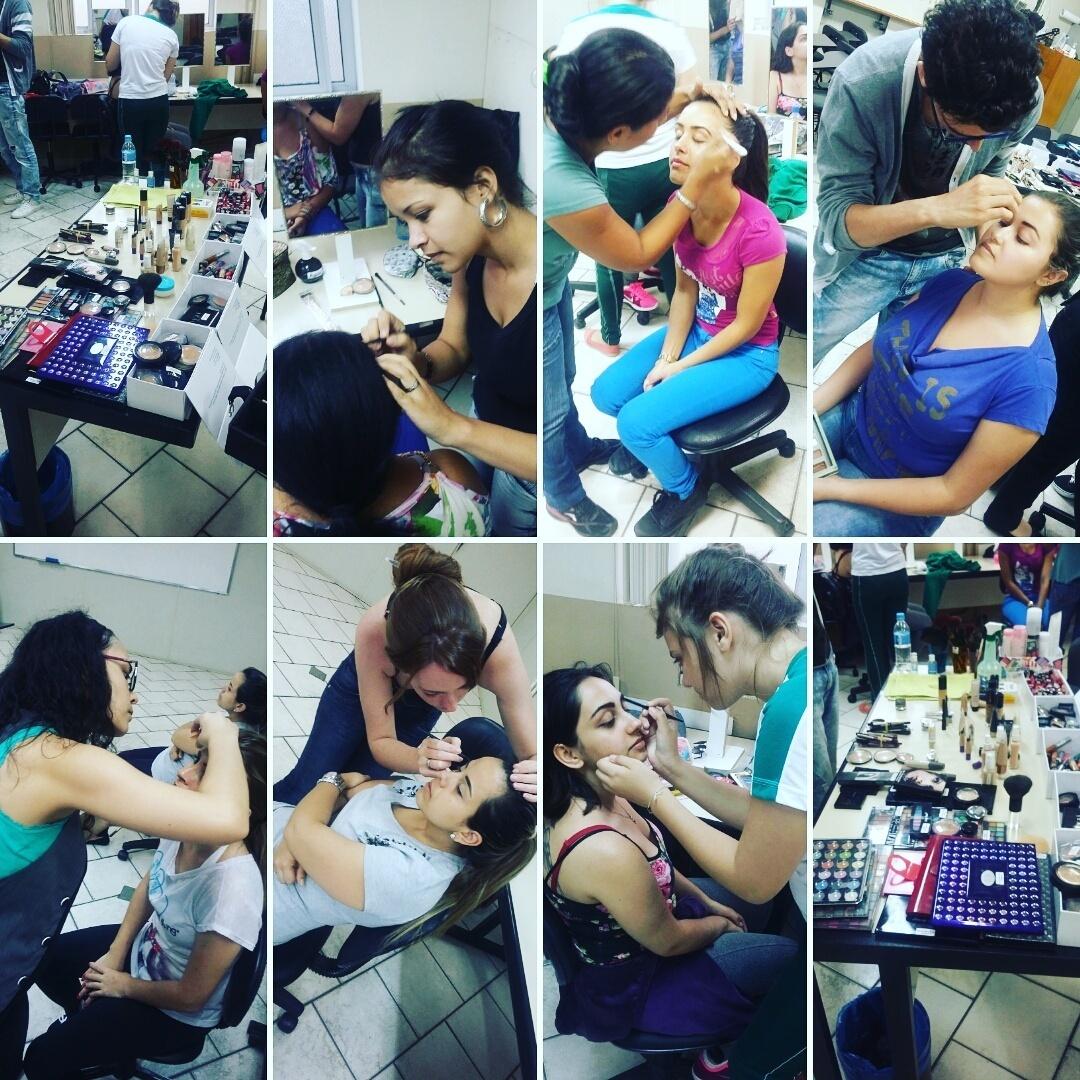 Ministro cursos de auto maquiagem e profissional  maquiagem maquiador(a) esteticista