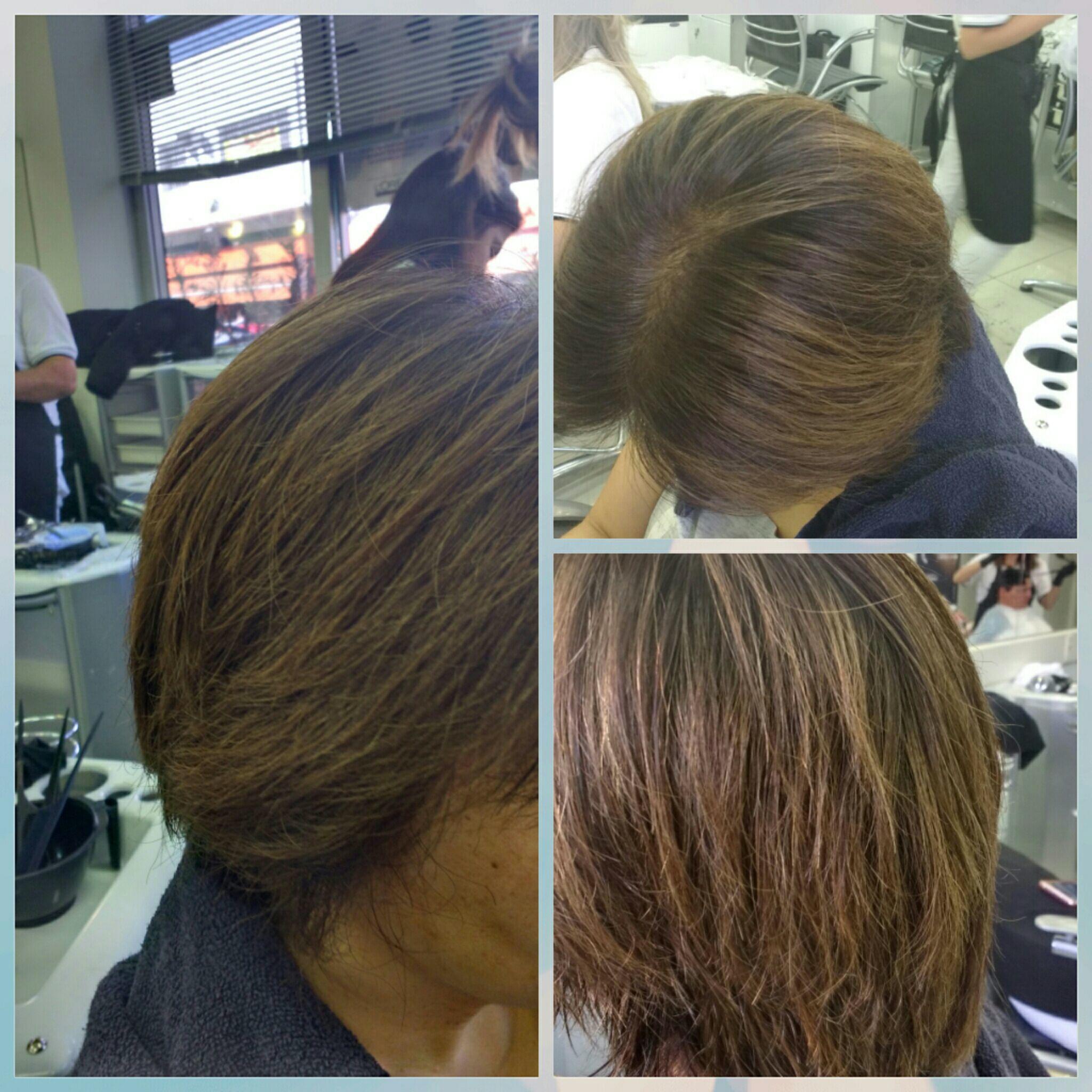 Retoque de raiz auxiliar cabeleireiro(a) cabeleireiro(a)