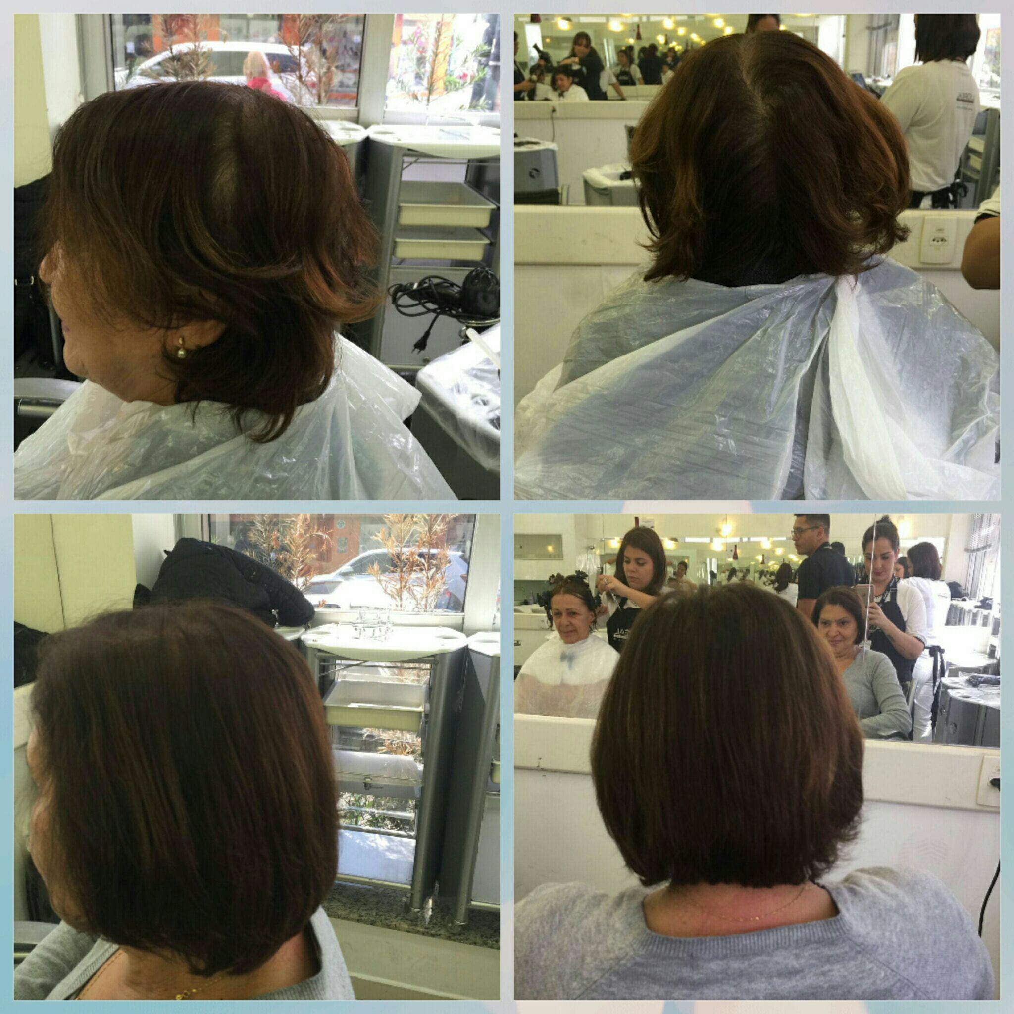 Coloração e cobertura de brancos auxiliar cabeleireiro(a) cabeleireiro(a)