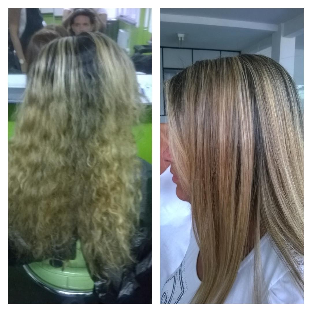 Plástica dos Fios  cabelo cabeleireiro(a) estudante (esteticista)