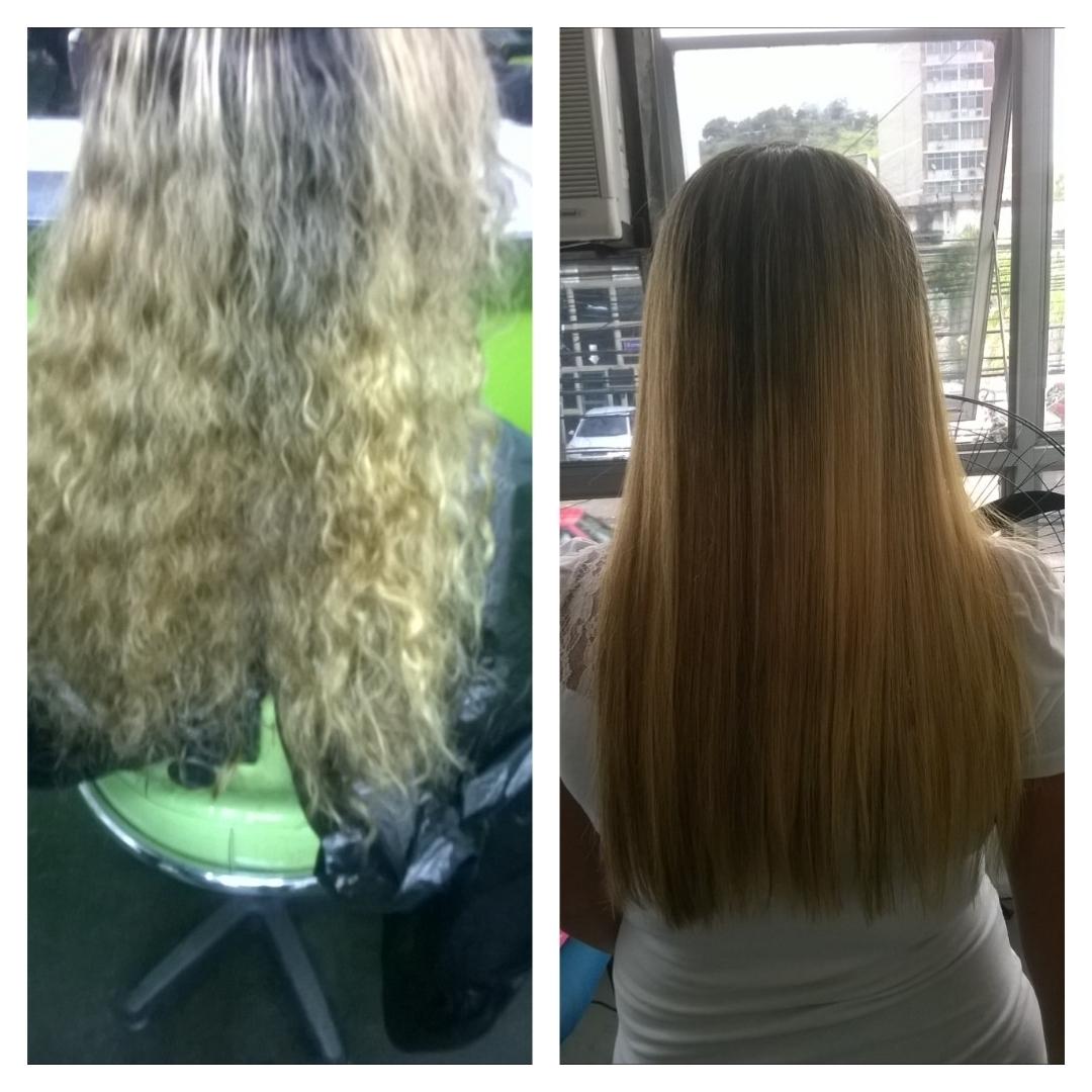 Plastica dos Fios cabelo cabeleireiro(a) estudante (esteticista)
