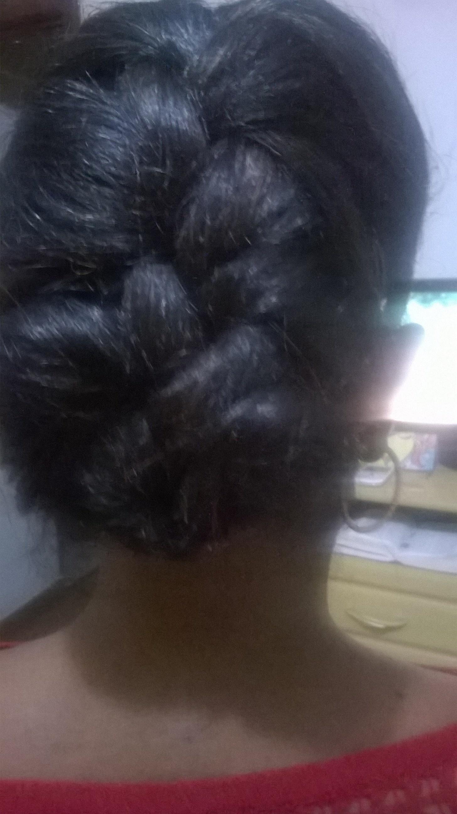 Trança embutida Cliente Mariana cabelo cabeleireiro(a) estudante (esteticista)