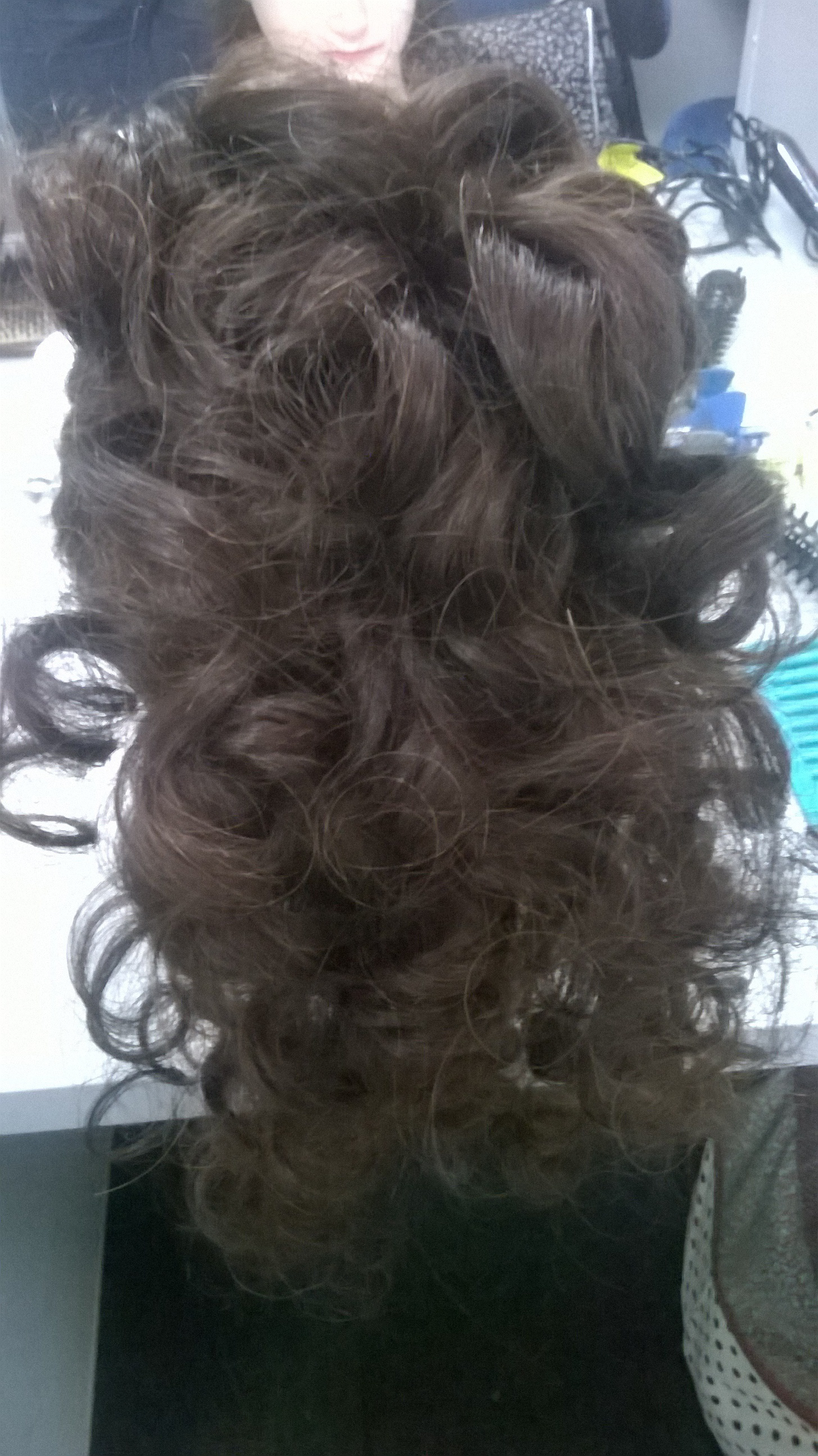 Segunda Aula de Penteado - Cachos Elevados cabelo cabeleireiro(a) estudante (esteticista)