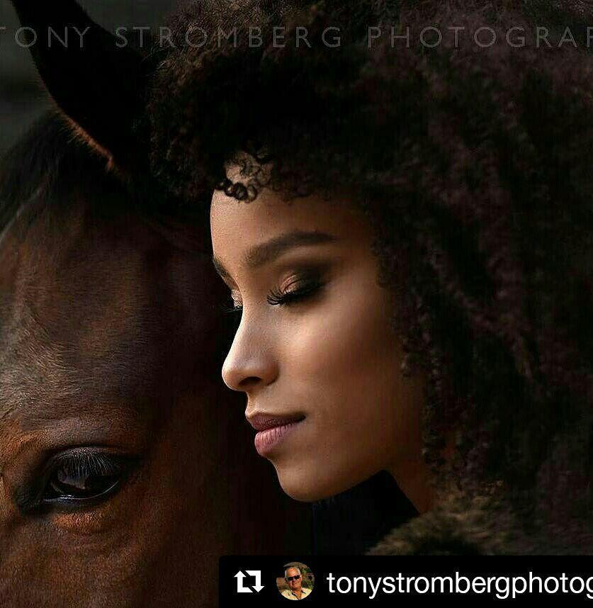 Maquiagem para o fotografo Tony Stromberg #makepelenegra #esfumado maquiagem maquiador(a) designer de sobrancelhas