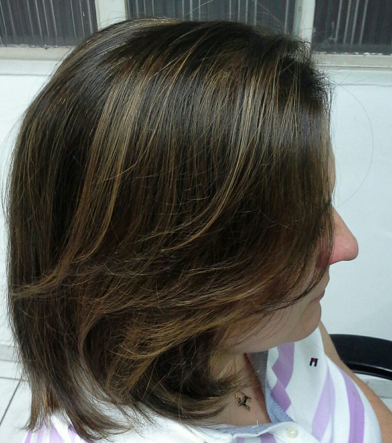 Correção de cor,  antes  e depois  Profissional.  Vera Lúcia cabelo stylist / visagista cabeleireiro(a)