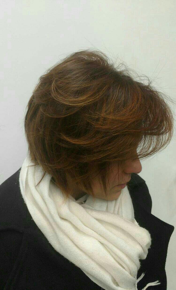 Tons acobreados cabelo cabeleireiro(a) stylist / visagista
