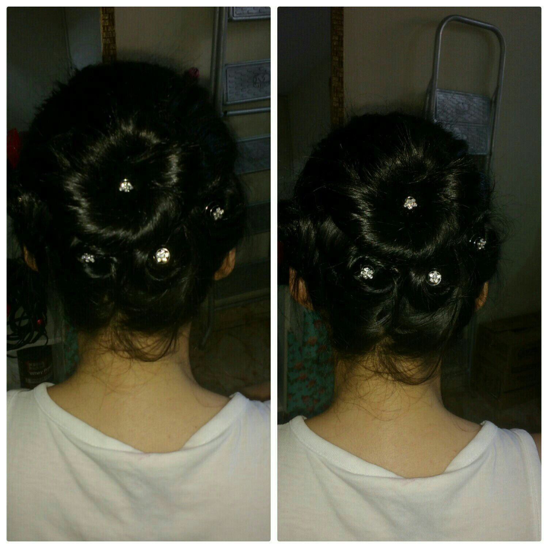 Penteado cabelo cabeleireiro(a)