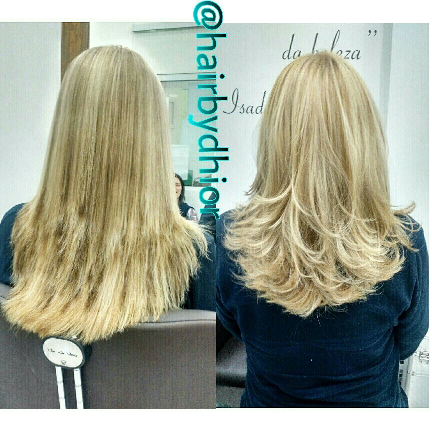 Fizemos o primeiro passo para corrigir esse cabelo, que precisava cortar, ser tratado e correções de Cor. cabelo cabeleireiro(a)