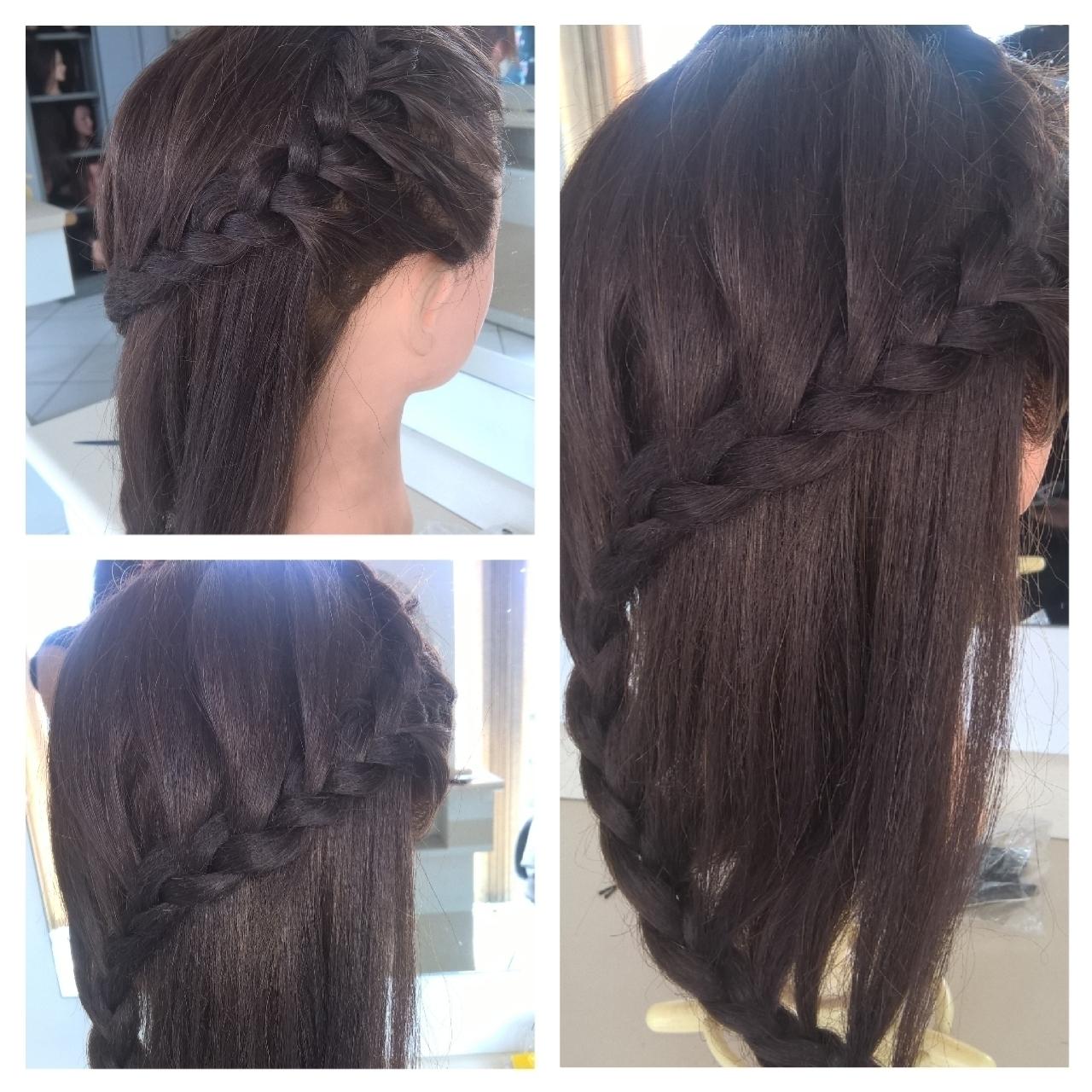Trança Romana! cabelo maquiador(a) designer de sobrancelhas