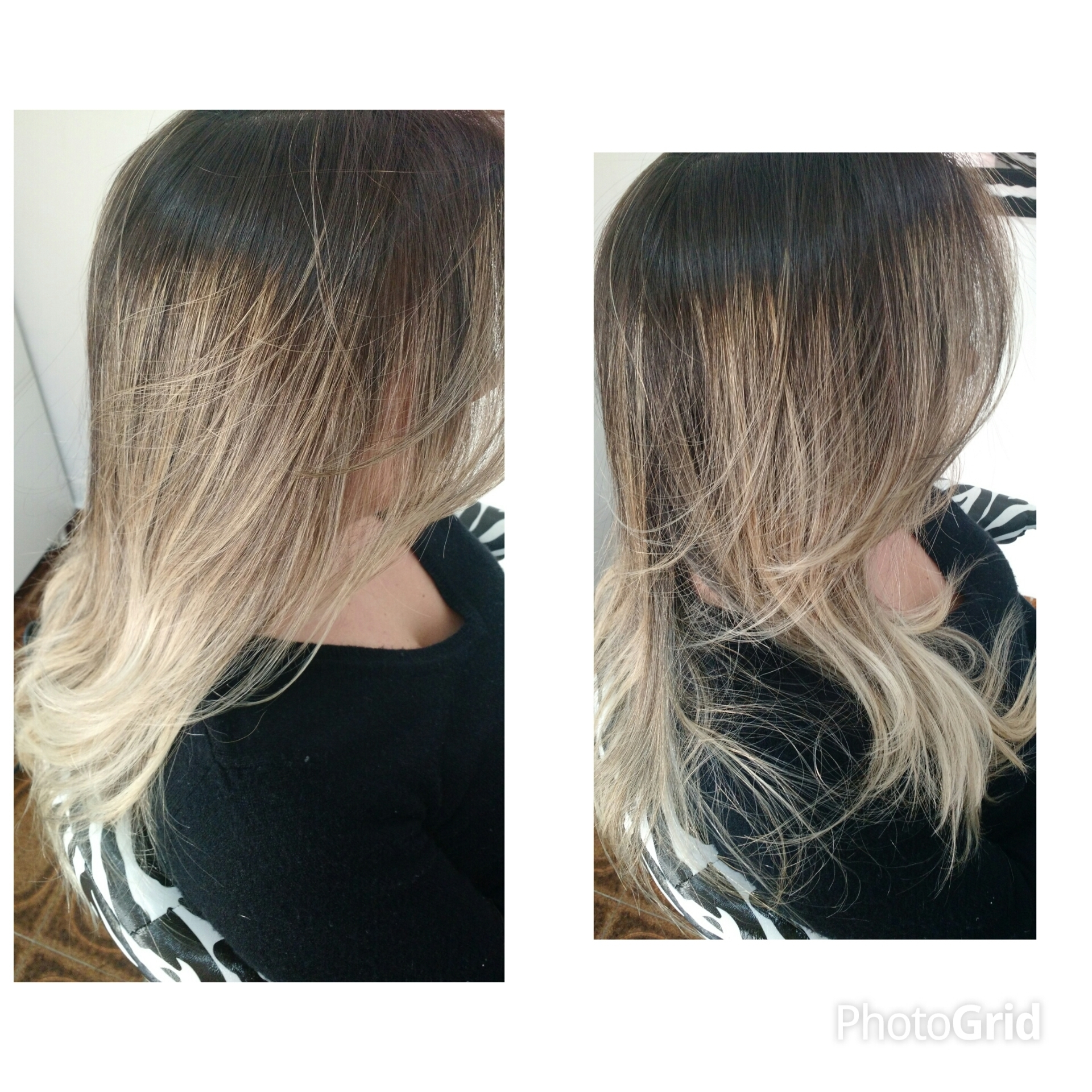 Redução de volume sem amarelar sem desbotar #reducaodevolume #job  cabelo cabeleireiro(a)