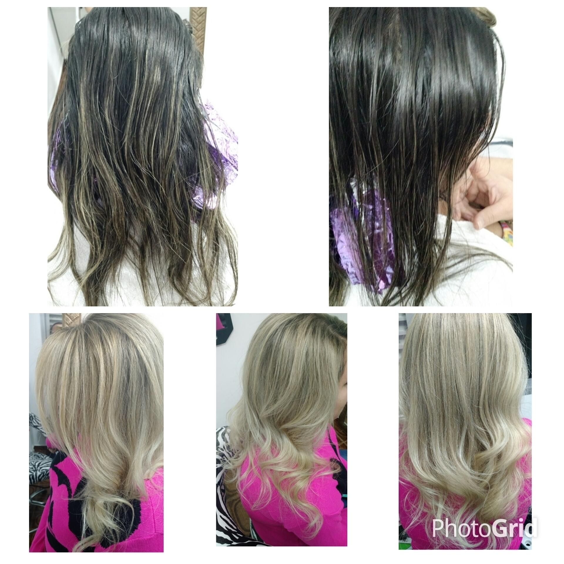 Transformação #loiratop #amando  cabelo cabeleireiro(a)