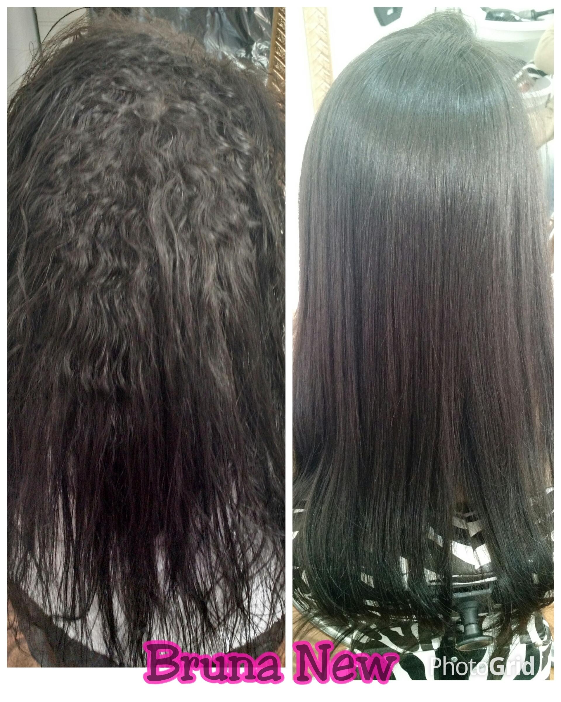 Redução de volume cabelo cabeleireiro(a)