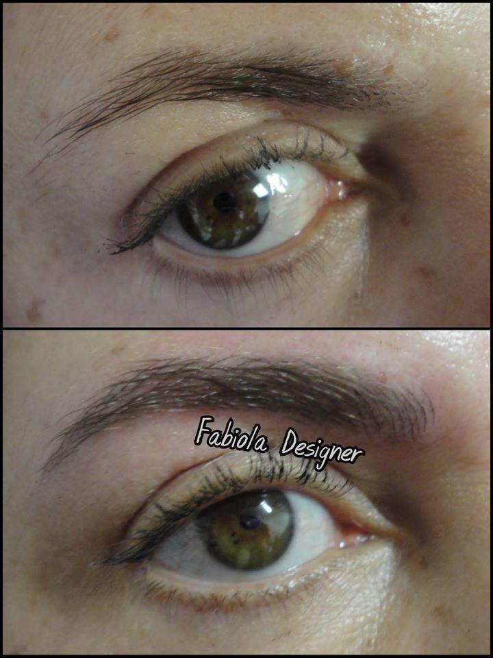 Sim! Loiras também podem! Microblading! outros micropigmentador(a) designer de sobrancelhas depilador(a)