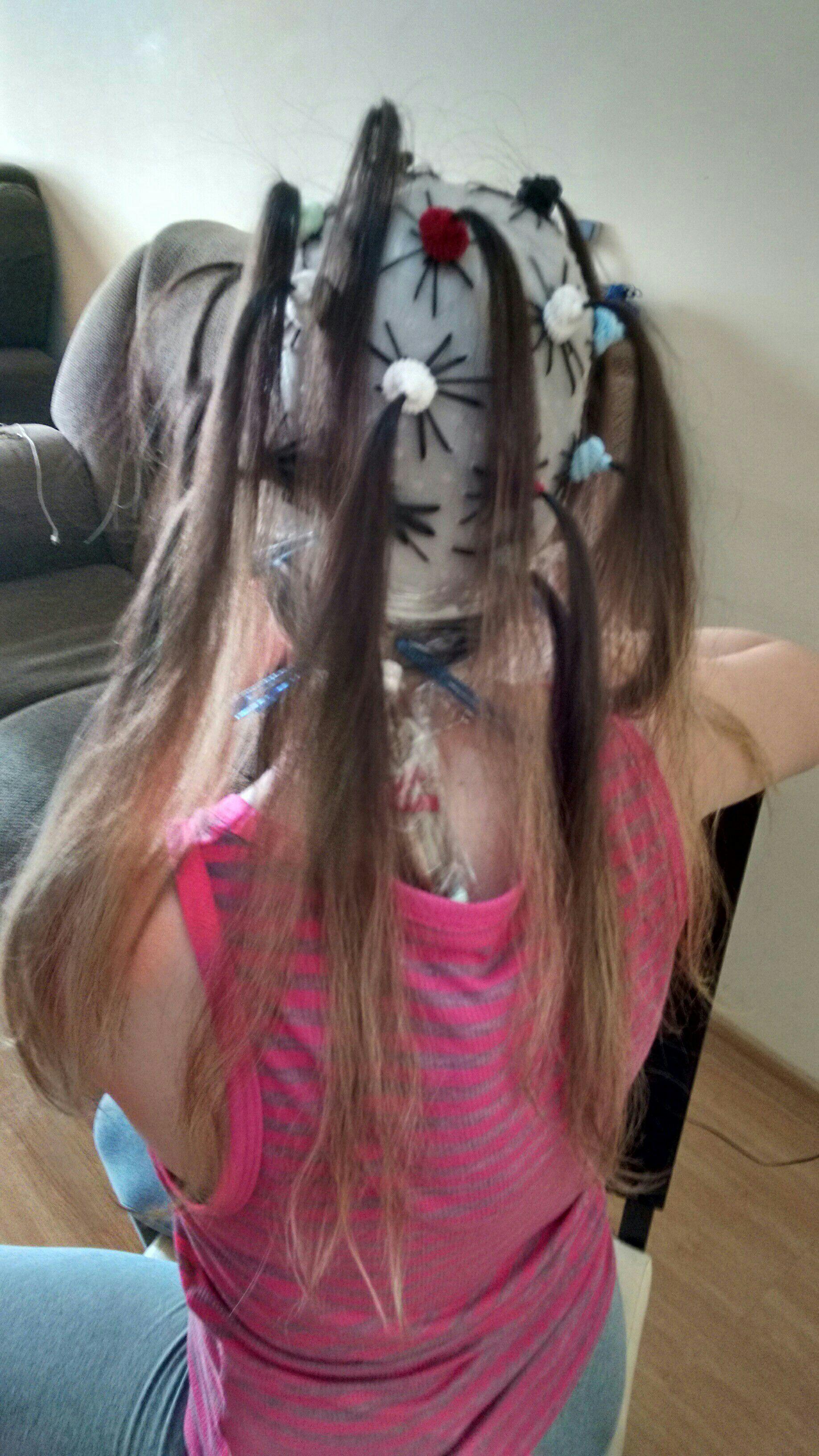 Ombre hair na touca, técnica da xuxinha cabelo cabeleireiro(a)
