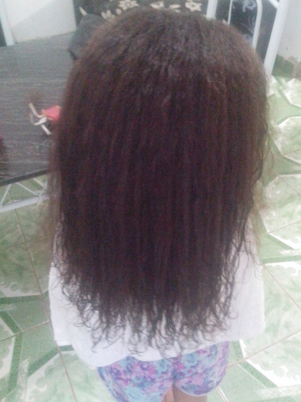Antes Do Botox Capilar cabelo cabeleireiro(a) manicure e pedicure