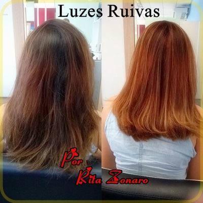 Ruivos cabelo cabeleireiro(a)