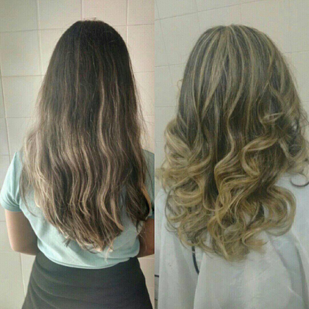 Mechas e ombre cabelo auxiliar cabeleireiro(a) cabeleireiro(a) cabeleireiro(a)