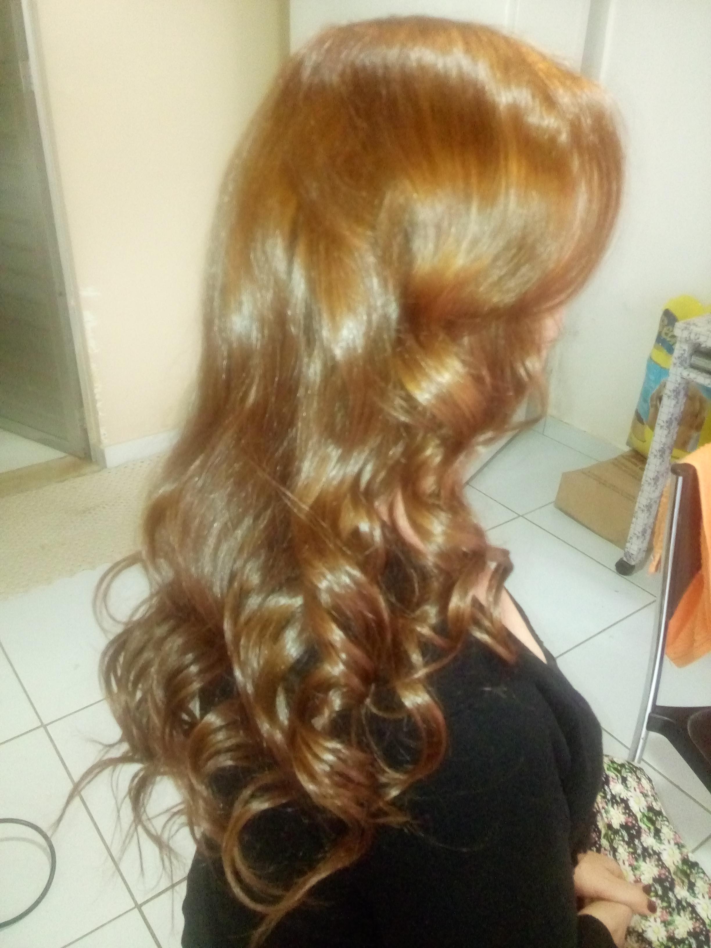 #MEGAHAIR, #COR #RUIVO NATURAL cabelo cabeleireiro(a)