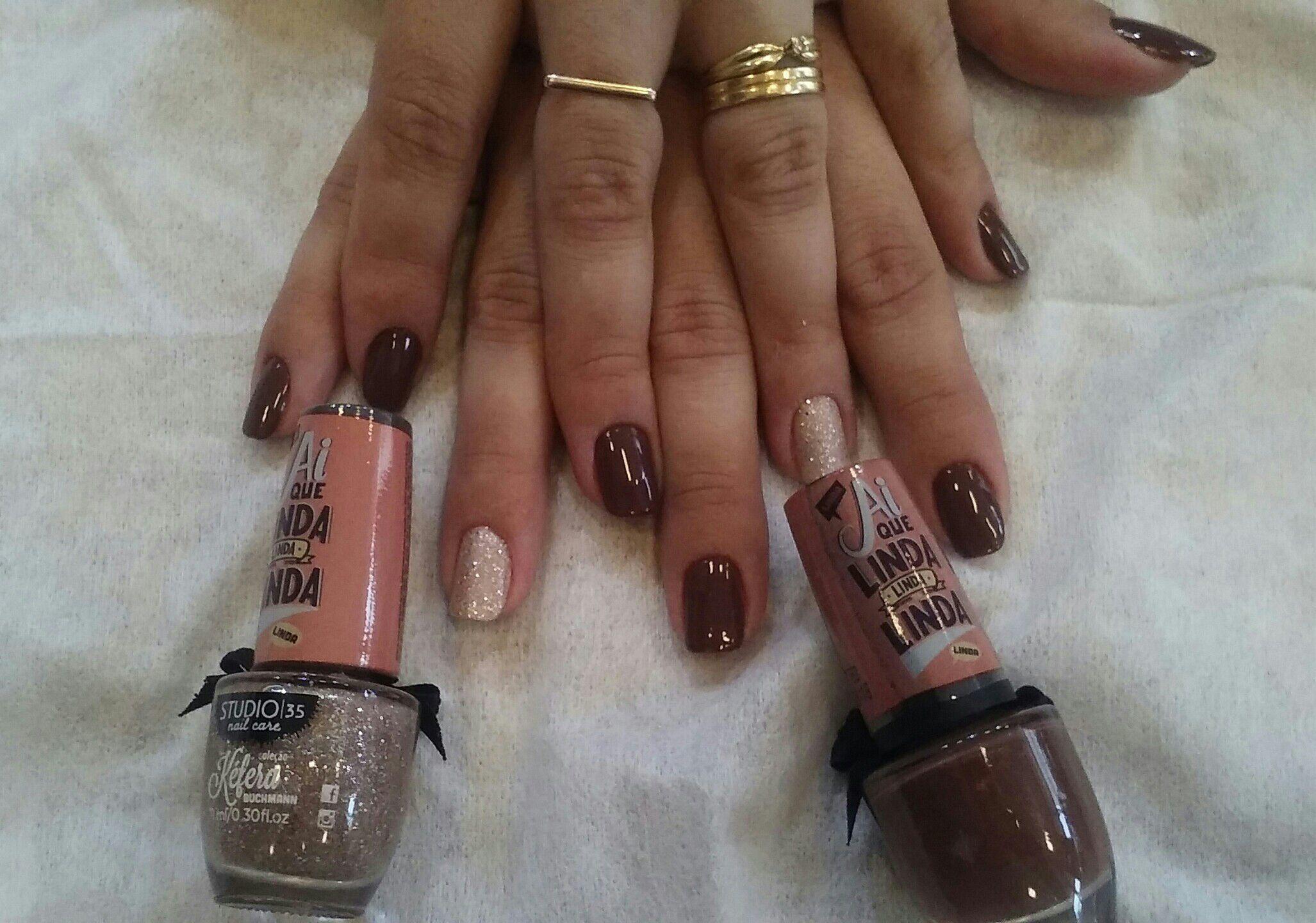 Sempre linda e bela unha manicure e pedicure