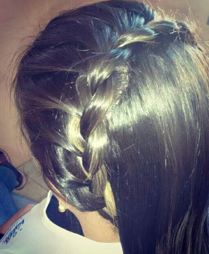 Curso de penteado com tranças 😍😍 cabelo auxiliar cabeleireiro(a)