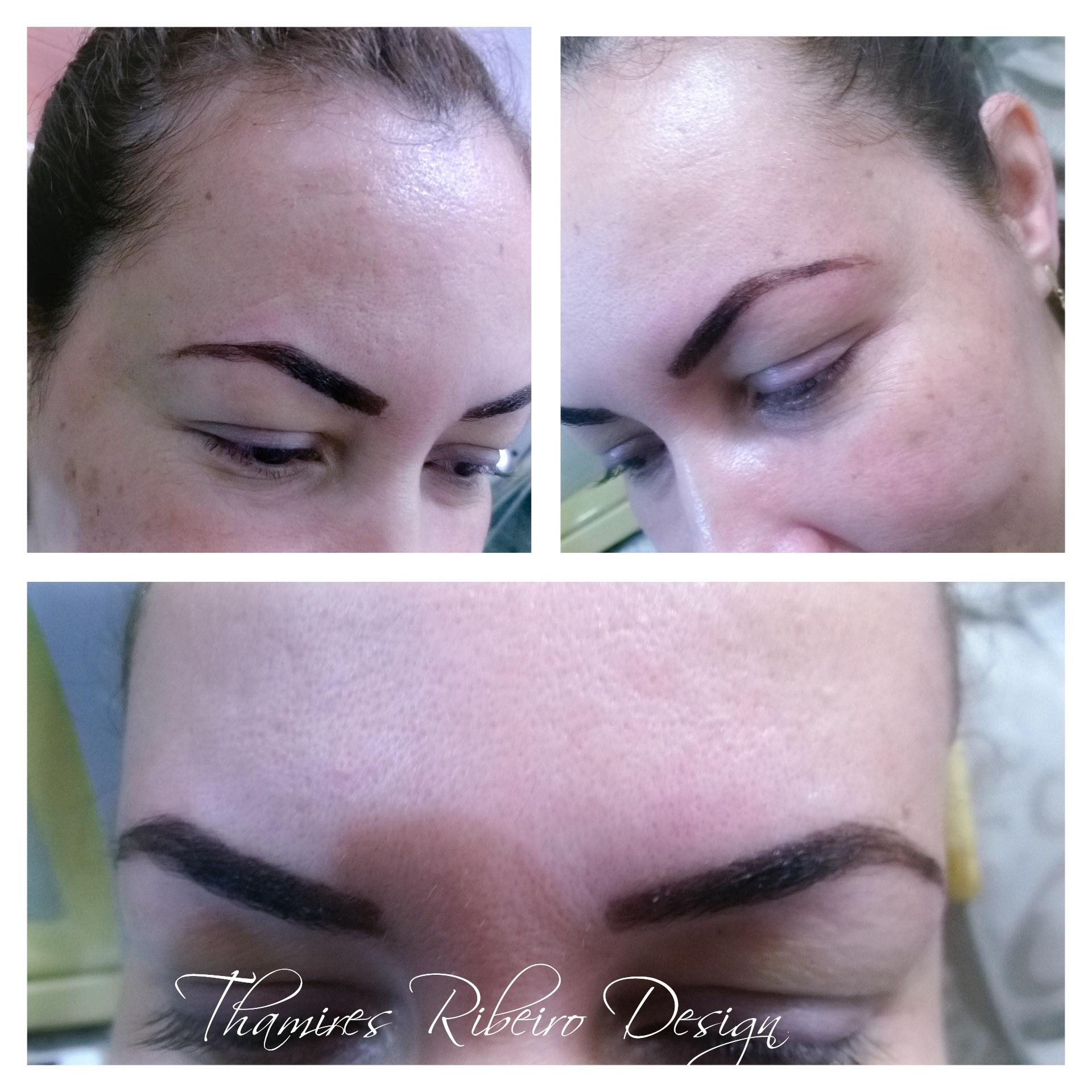 #cliente satisfeita #henna #linda #sobrancelhas #Design  estética manicure e pedicure designer de sobrancelhas