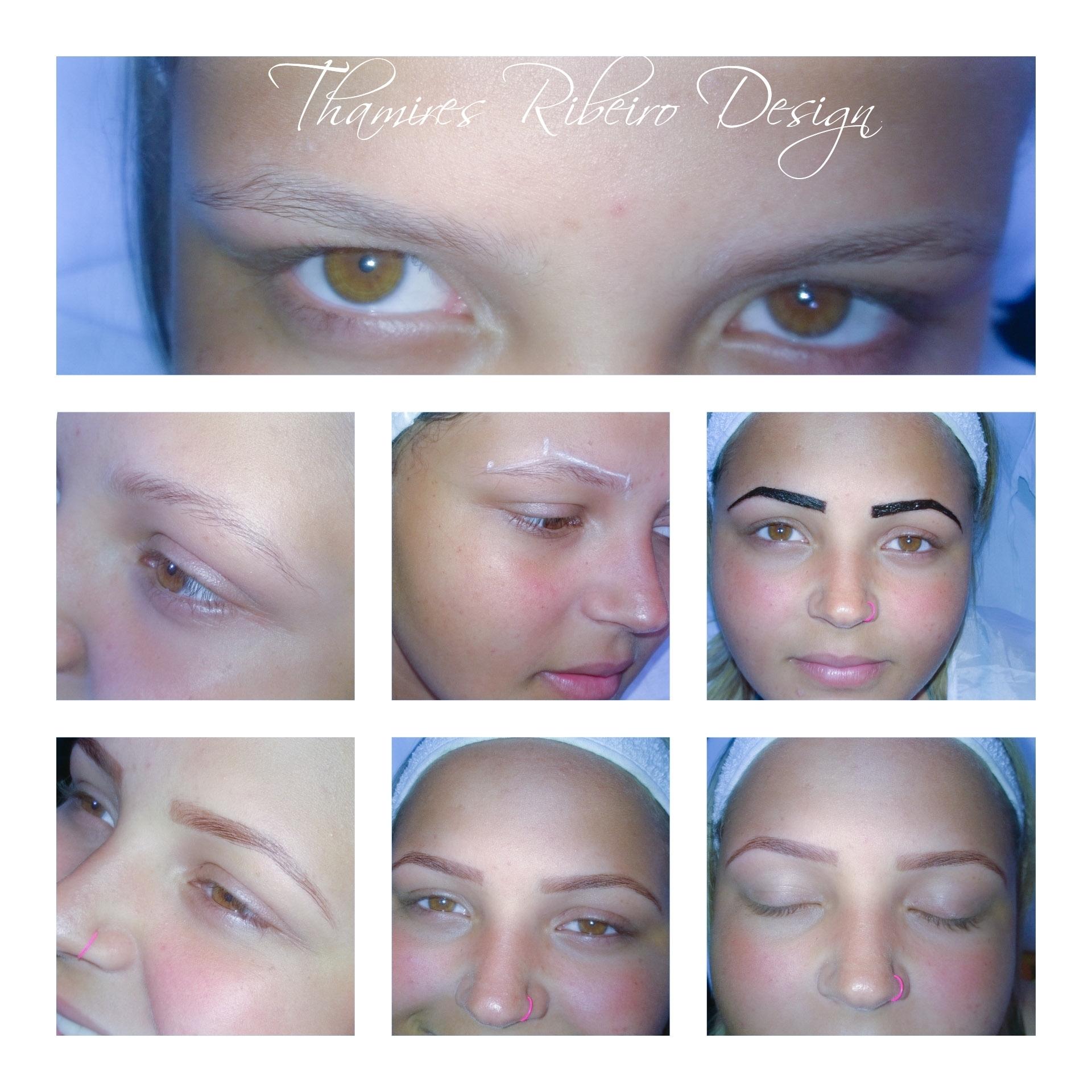 #linda #sobrancelhas #henna  para quem é #loira #natural #design #amei 😍  estética manicure e pedicure designer de sobrancelhas