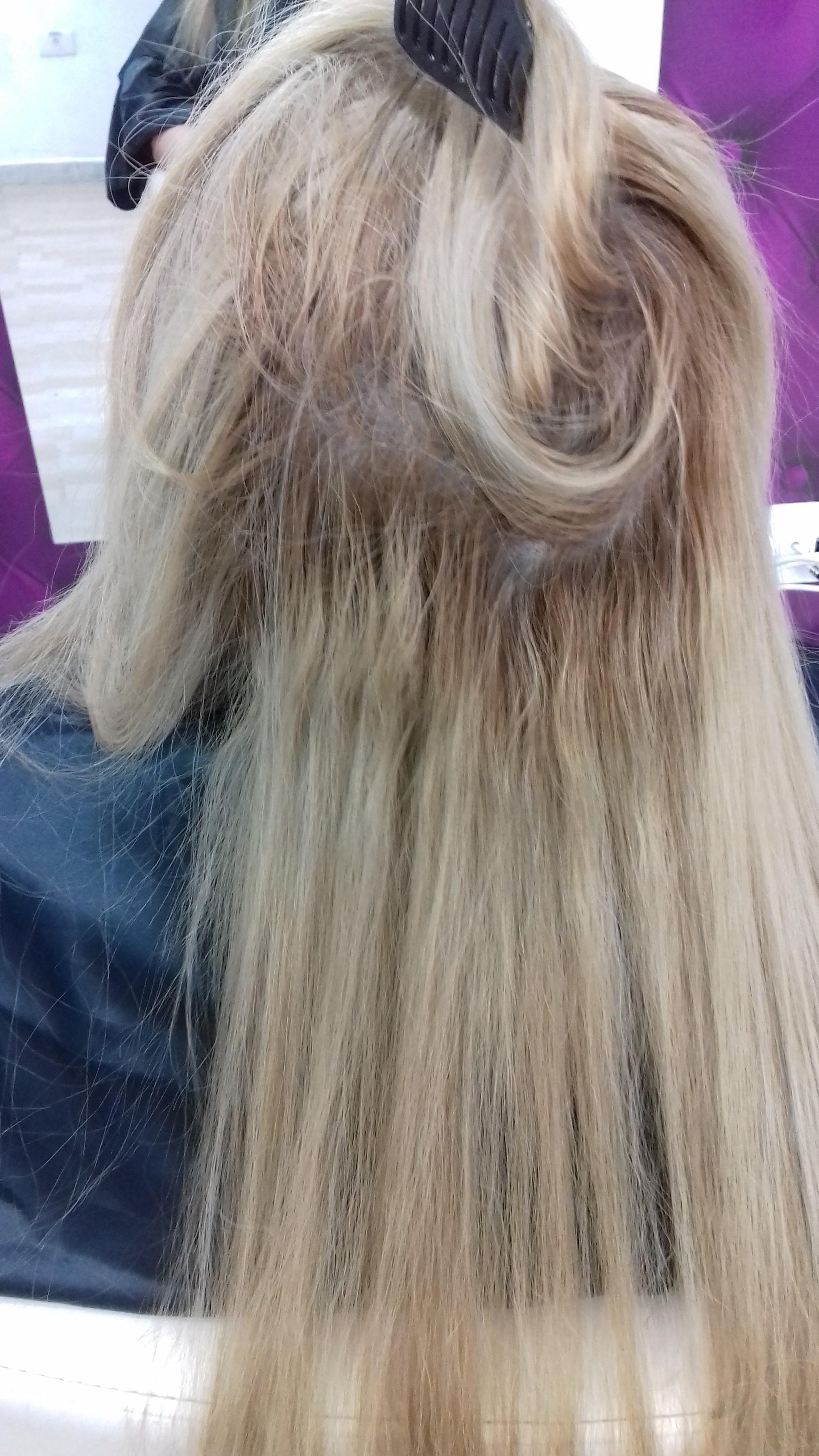 cabelo manchado cabelo cabeleireiro(a) maquiador(a)
