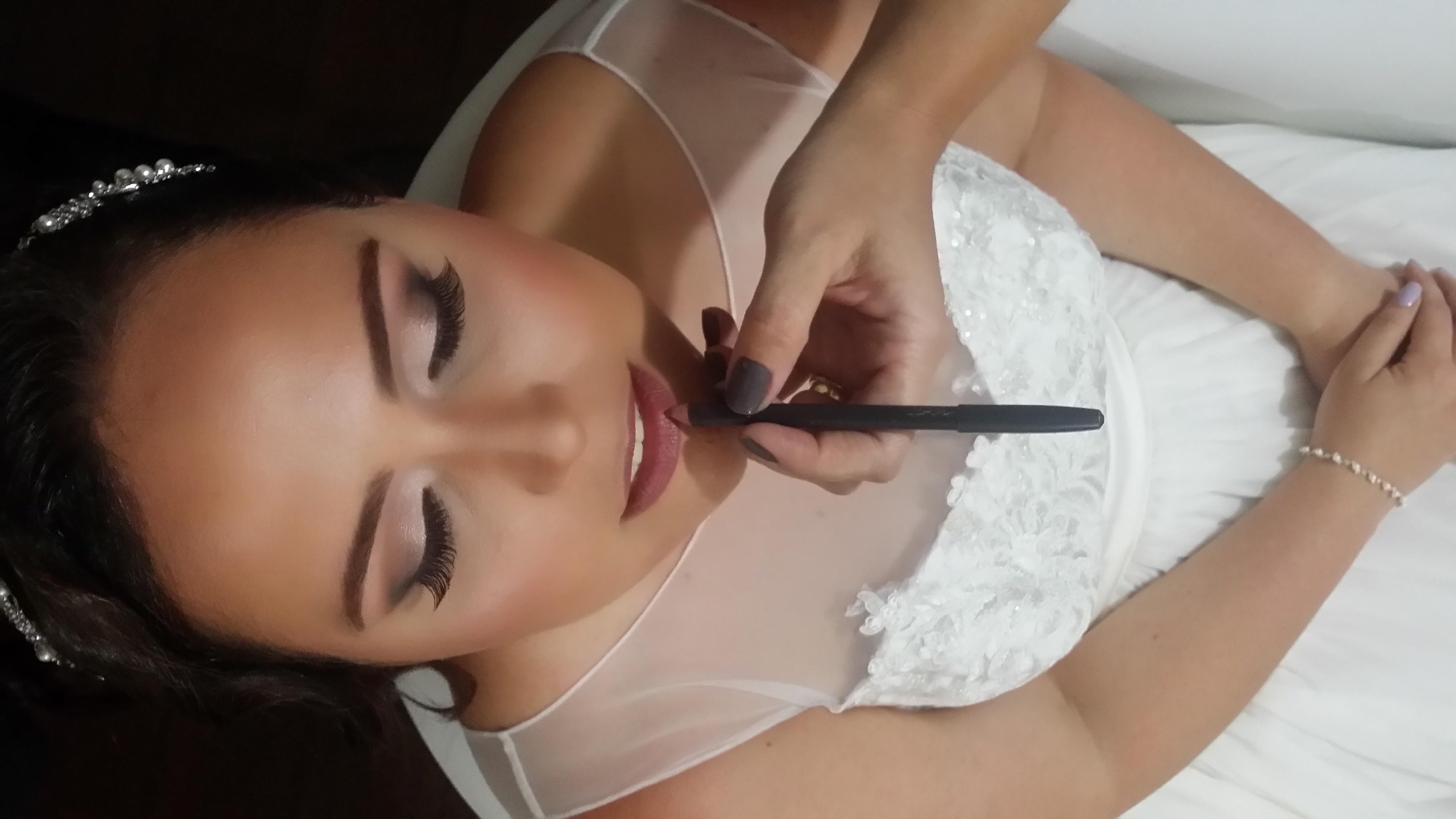 Noivinha maquiagem maquiador(a)