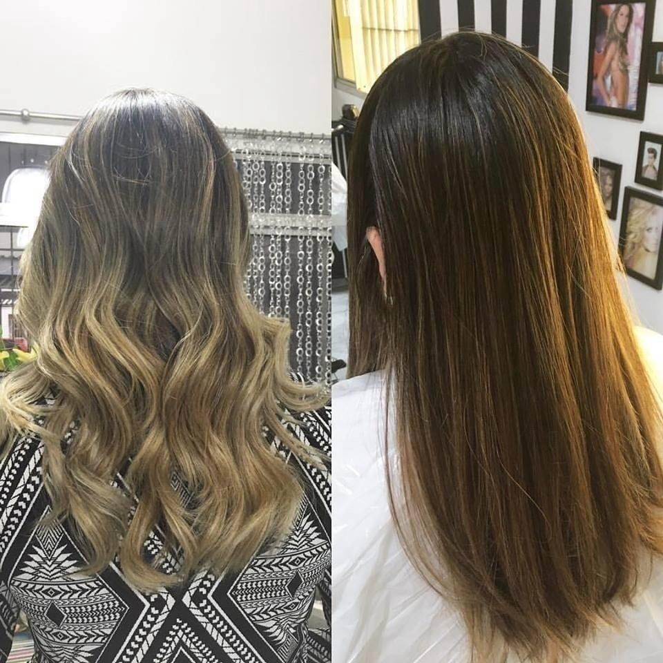 Morena iluminada cabelo stylist / visagista