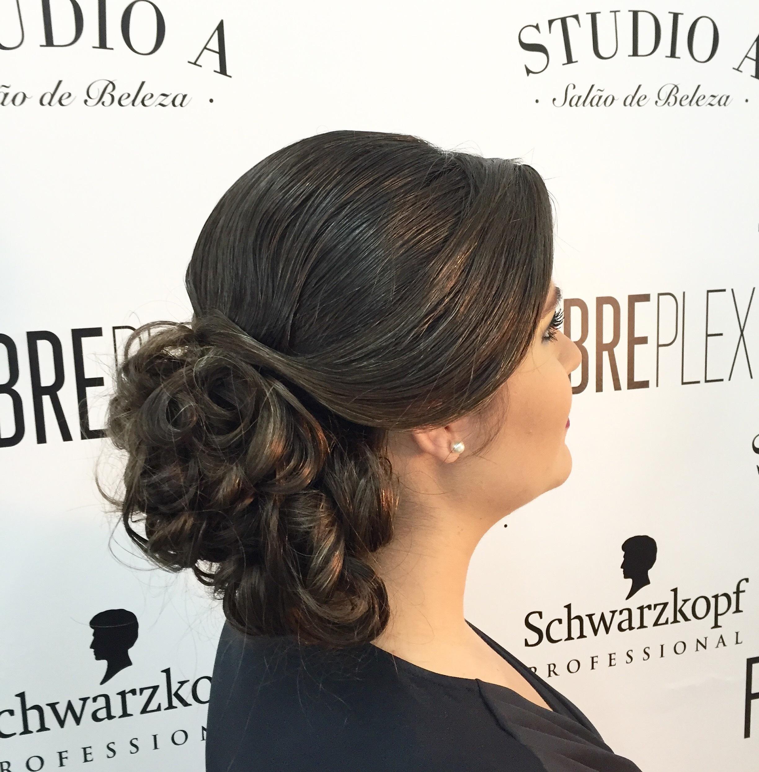 Penteado para formanda! cabelo cabeleireiro(a) empresário(a)