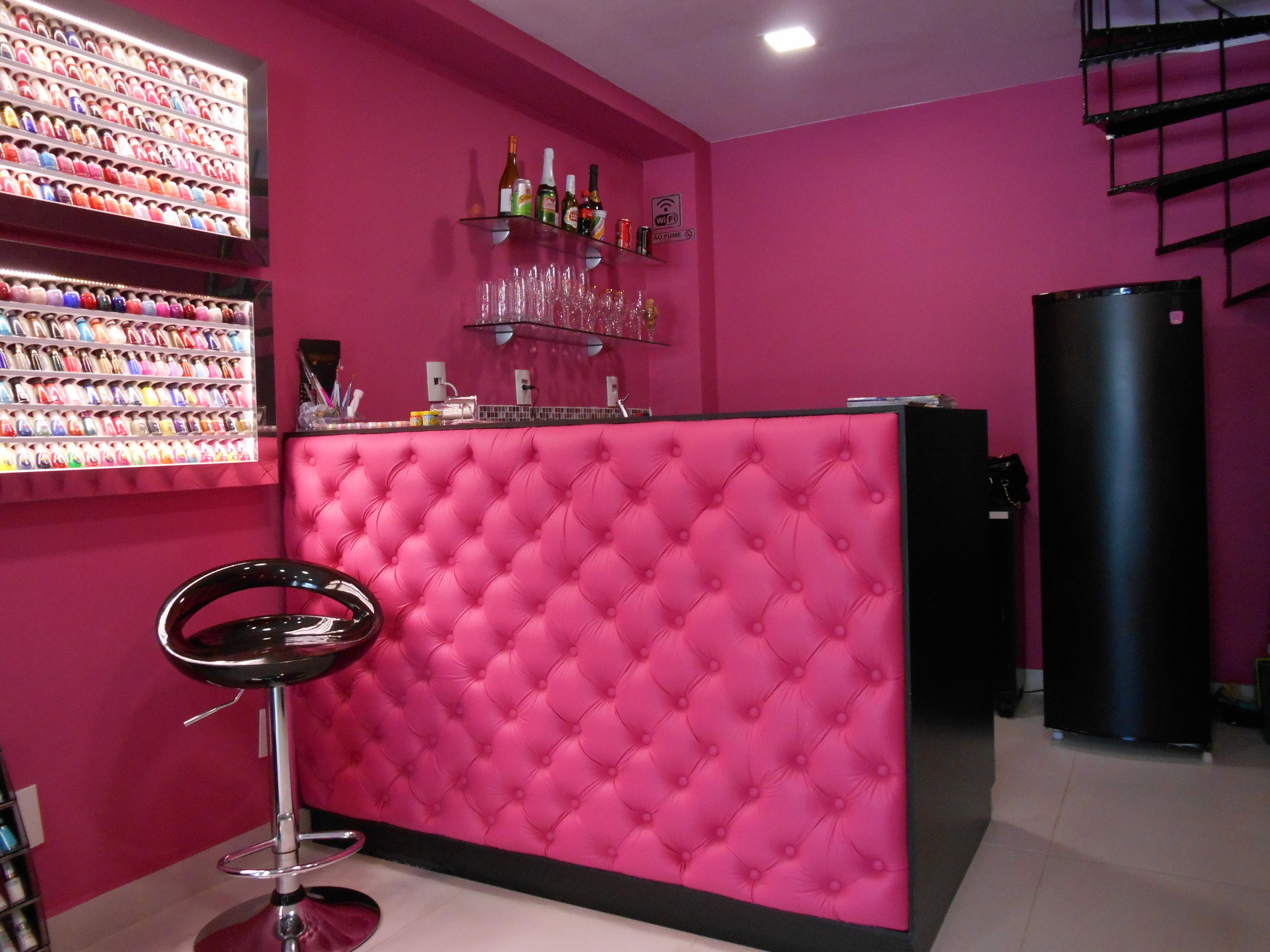 #recepção outros manicure e pedicure